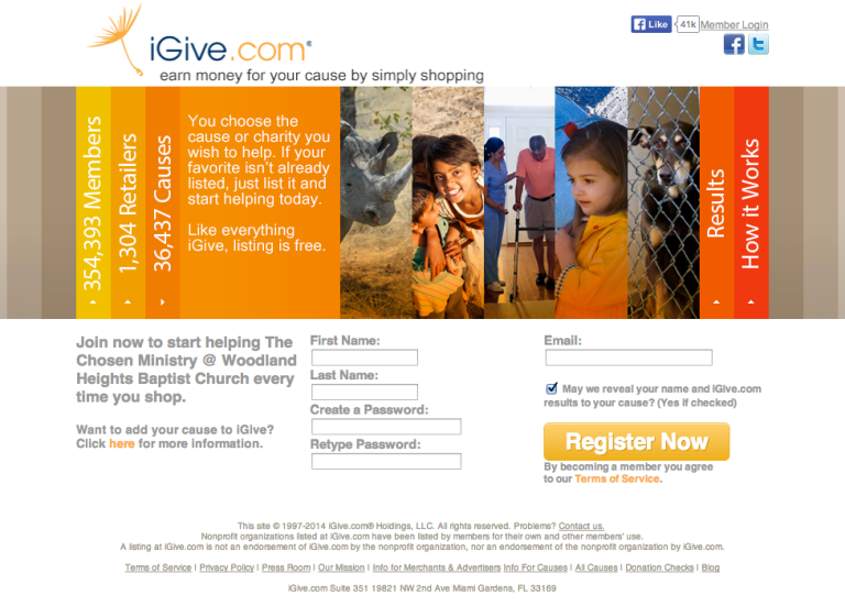 CLICK IMAGE TO GO TO IGIVE.COM WEBSITE