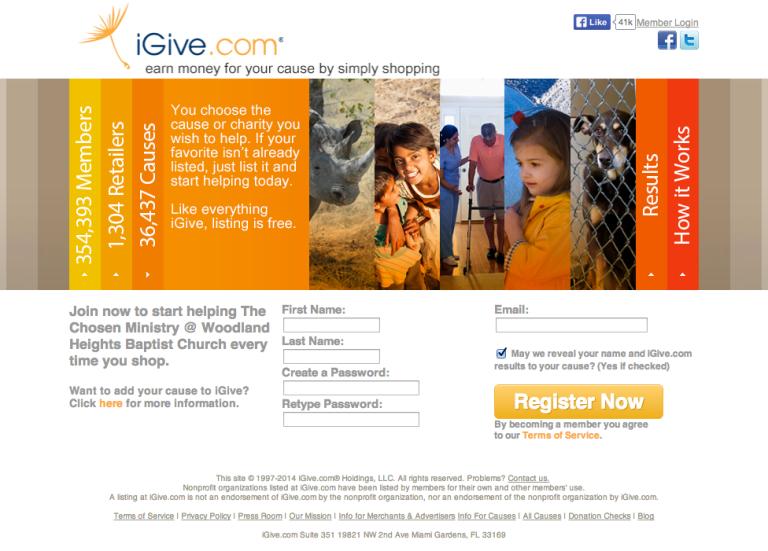 CLICK IMAGE TO GO TO IGIVE.COM WEBSITE